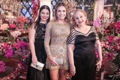 Carolina, Ana Luiza e Gladys Barreira