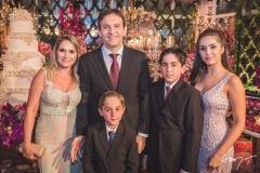 Cida, Carlos, Lucas, Carlos e Gabriela Cintra