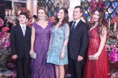 Cláudio e Suyane Dias Branco, Gabriela da Escóssia, Cláudio e Marcela Dias Branco