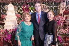 Consuelo Dias Branco, Geraldo Luciano e Denise Matos