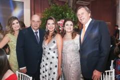 Elida da Escóssia, Fernando e Márcia Travessoni, Jacqueline e José Simões