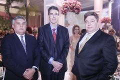 Florentino Cardoso, Geraldo Luciana e Raul Araújo