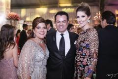 Gisela Vieira, Laerte Bezerra e Rebeca Leal