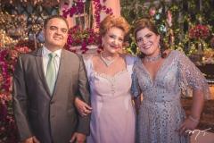 Herbert Vieira, Teresa Borges e Gisela Vieira