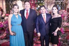 Isabela Costa, Marcos Dias Branco, Pompeu e Marília Vasconcelos