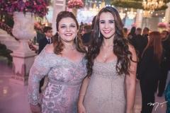 Jacqueline Simões e Vivian Barbosa
