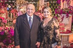 José Carlos e Lorena Gadelha
