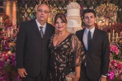 José Dias, Luisiane Dias e Renan Bezerra