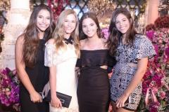 Larissa Jacomé, Ana Carolina Bessa, Maria Eduarda Gomes e Amanda Arruda
