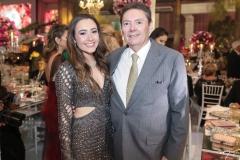 Lissa Dias Branco e Ivens Júnior