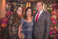 Paula, Martinha e George Assunção
