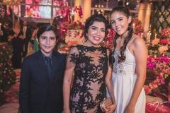 Pedro, Deolinda e Júlia Almeida