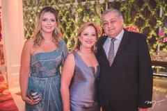 Tais Pinto, Tânia Teixeira e Adriano Pinto