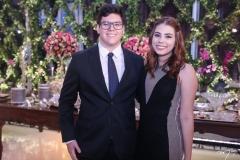 Vitor Farias e Nicole Sousa