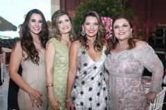 Vivian Barbosa, Elida da Escóssia, Márcia Travessoni e Jacqueline Simões