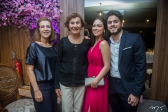 Neide Machado, Liana Maria, Eduarda Filomeno E Renato Andrade