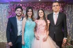 Renato, Izabella, Lara E Septimus Andrade