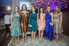 Valeria, Gláucia, Karísia, Lara, Venuza E Eveline Cecchia