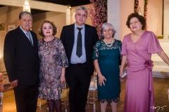 Carlos Alberto e Ludovirges Leão Vieira, Franklin de Sá, Fátima Lima e Margarida Passos