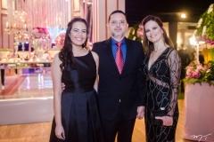 Catarina, Antônio e Sandra Moreira