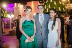Elisa, Eduardo e Ana Beatriz Figueiredo