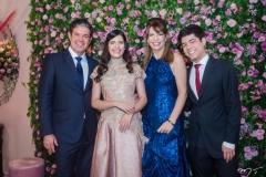 Emanuel Chaves, Lissa, Aline e Emanuel Telles Chaves