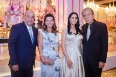 Fernando, Márcia Travessoni, Tatiane e Everardo Telles