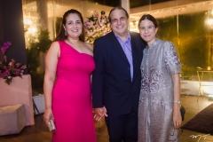 Georgia Santos, Alexandre e Catarina Telles