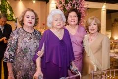 Ludovirges Leão Vieira, Francisca Iaci, Margarida e Mara Darci Passos