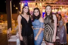 Luiza Fecury, Ana Clara Mota e Camila Alves Rocha