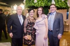 Raimundo, Irene, Cristiane e Ricardo Viana