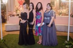 Rosana Marcondes, Patrícia França, Daniela Sampaio e Sinara Araújo