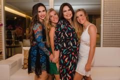 Rebeca Sousa, Maria Cecília, Andréa Rios e Maria Eduarda