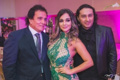 Aymar Rodrigues, Carol Rabelo e Vicente Nery