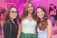 Camila Piloni, Paloma Gissoni e Geise Maria Paulino
