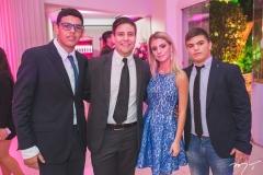 Humberto Freitas, João Victor do Valle, Maria Dias e Michael Dias