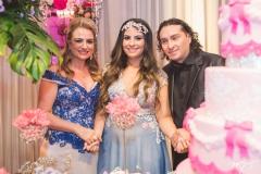 Ingrid Bessa, Maria Clara e Vicente Nery