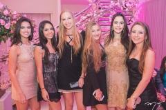Isabela Serpa, Letícia Leal, Manuela Catunda, Rebeca Dias, Eugênia Queiroz e Maria Eduarda Felício