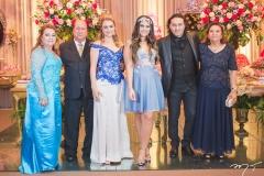 Iveuda Bessa, Ednaldo Bessa, Ingrid Bessa, Maria Clara, Vicente Nery e Maria de Lourdes Gerônimo