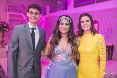 Lúcio Salazar, Maria Clara e Clarissa Salazar