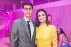 Lúcio e Clarissa Salazar