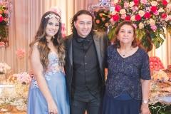 Maria Clara, Vicente Nery e Maria de Lourdes Gerônimo