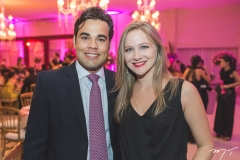 Paulo Rodrigues e Giovana Santiago