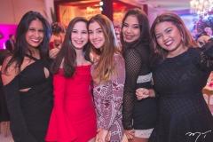 Renata Matos, Carol Andrade, Bianca Nunes, Letícia Fernandes e Viviane Jucá