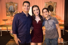Eduardo Gesteira, Sofia Luz e André Felipe