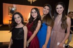 Elise Luz, Vanessa Ponte, Laila Cavalcante e Mariana Macedo