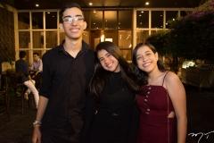 Gustavo Benevides, Ana Beatriz Correa e Gabriela Borges