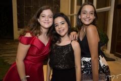 Isabela Barata, Elise Luz e Clarice Maria