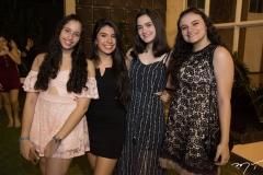 Jéssica Sousa, Milena Braga, Sophia Rodrigues e Fernanda Coelho