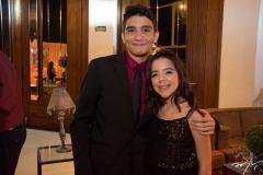 João Guilherme e Elise Luz